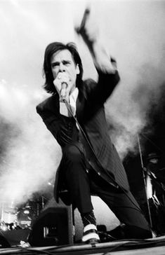 Nick Cave -- Intense voice and good dancing.