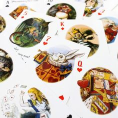 Alice in Wonderland Playing Cards $9.95 from Reader's Catalog