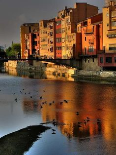 Girona --- We're going there for Matt's work in less than three hours. Love sets. Love my man in action. <3<3<3