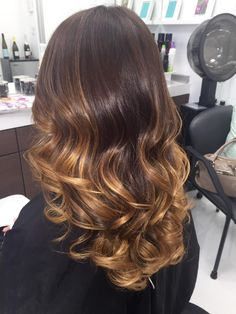 HOW-TO: Luscious Chocolate Caramel Swirl Balayage | Modern Salon