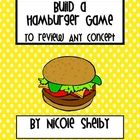 Build a Hamburger Game to Review ANY Concept - can be used for patterns and sequencing