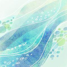watercolors use pink, orange highlights w/ batik Watercolor And Ink, Watercolor Illustration, Watercolor Paintings, Watercolors, Scandinavian Folk Art, Pastel Art, Ocean Art, Wall Art Designs, Art Plastique