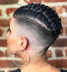 20 Superb Braids with Shaved Sides Worth Copying # micro Braids with shaved sides 20 Trendy Ways to Wear Braids with Shaved Sides # micro Braids with shaved sides Box Braids Hairstyles, Shaved Side Hairstyles, Undercut Hairstyles, Wedding Hairstyles, Medium Hairstyles, Micro Braids, Twist Braids, Hair Twists, Hair Buns