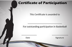 Basketball certificate of participation free basketball, basketball games for kids, free printable certificates, Free Printable Certificates, Certificate Design Template, Templates Printable Free, Gift Certificates, Free Basketball, Basketball Games For Kids, Basketball Gifts, Confused, Awesome
