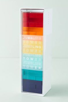 Sunnylife Lucite Jumbling Tower | Anthropologie