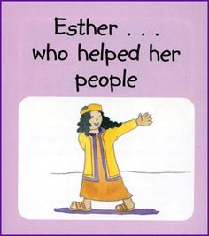 Esther Helped Her People (Story) - Kids Korner - BibleWise