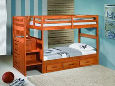 Bunk Beds with Stairs for Kids - Favorite Interior Paint Colors Check more at http://billiepiperfan.com/bunk-beds-with-stairs-for-kids/