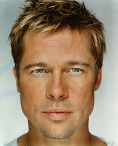 """Brad Pitt """"Up Close & Personal - Celebrity Photography"""" by Martin Schoeller"""