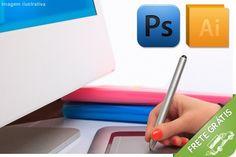 Curso on-line de Photoshop CS5, Illustrator CS5 ou ambos, a partir de R$24.90