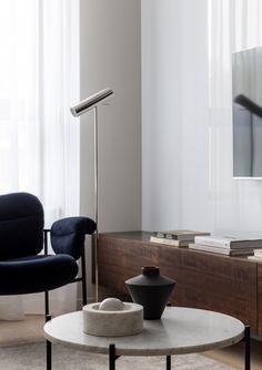 living room Living Room Interior, Scandinavian Design, Minimalist Design, Flats, Contemporary, Furniture, Interiors, Home Decor, Style
