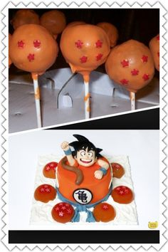 Dragon Ball Z Cake Decorating Kit : DragonBall Party on Pinterest Dragon Ball Z, Dragonball ...