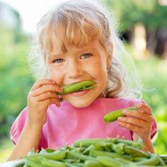 Beneficios de las legumbres para los niños.