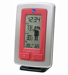 The Weather Channel Kids Wireless Temperature Station/ Help them learn this summer while outdoors.