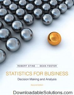Introduction to mathematical statistics 7th edition 9780321795434 solutions manual for statistics for business decision making and analysis 2nd edition stine foster download answer key test bank solutions manual fandeluxe Image collections