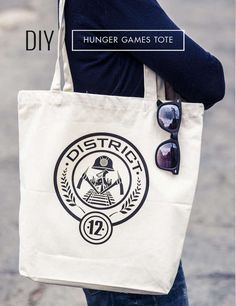 DIY Hunger Games Tote Bag - DIY Craft Kits, Monthly Craft Projects, Supplies, Subscription Box | Whimseybox