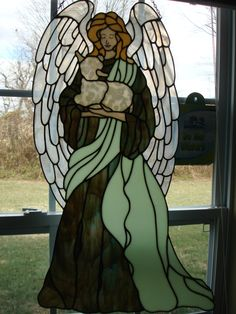 My pretty Angel with lamb,,,