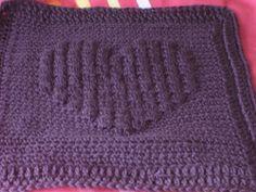 Ravelry: Full Heart Bobble Square pattern by Laura Zalesak