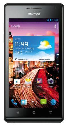 Huawei U9200 Ascend P1 Sim Free Smartphone – Black