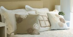 crochet decor... #crochet_pillow cushion ... inspiration GB