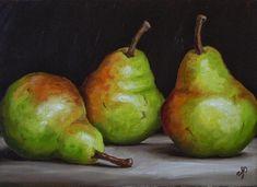 Jane Palmer (b.1974) — Three Williams Pears, 2013 © (1000x727)