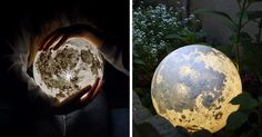 These Moon And Planet Lamps Will Make Your Room Look Out Of This World | Bored Panda