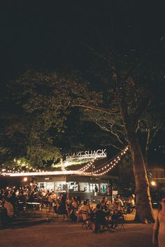 The Shake Shack in Madison Square Park | Nikola and Tamara on Flickr, August 2013