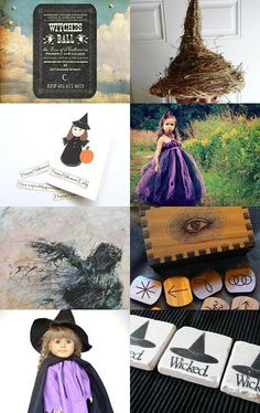 Witches Ball by Charlene on #Etsy #halloween #etsyfind