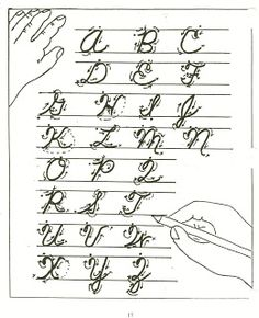 Homeschool Parent: Handwriting Resources Links to printables with cursive and manuscript.