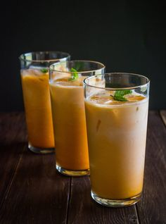 Thai Iced Tea is the perfect refreshing drink for a hot summer day (or anytime)! Sweet, creamy and full of flavor. Pairs exceptionally well with spicy Thai food.