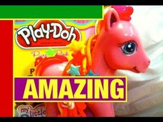 ▶ Play Doh My Little Pony MLP Dough Toy Review by Mike Mozart of TheToyChannel.mov - YouTube