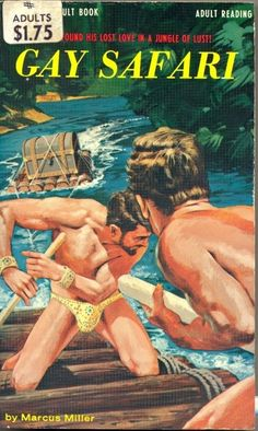 12 Insane Queer Pulp Novel Covers
