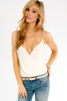 Xaggerated Bodysuit $26 at www.tobi.com