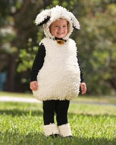 Shaun The Sheep Costume with Dress /& Headband - COST-W NEW White UK IMPORT