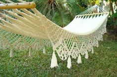 Wedding Hammock for my dream yard without mosquitos