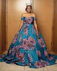 Ankara Dress Designs, Ankara Dress Styles, Ankara Gowns, Latest Ankara Styles, African Prom Dresses, African Dresses For Women, African Attire, African Fashion Dresses, Ankara Fashion