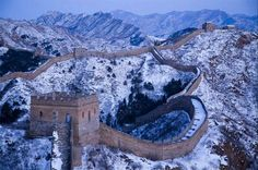 Gran Muralla China nevada