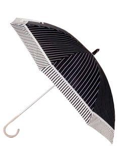 Striped Leighton Umbrella