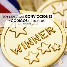 """#AfirmaHoy: """"Soy leal a mis convicciones y códigos de honor."""""""
