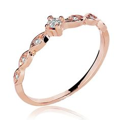 ANEL 18K SOFIA DIAMOND ROSE                                                                                                                                                                                 Mais