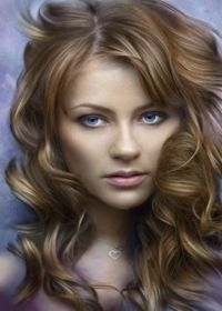 Honey Blond Hair (best shades for fair cool tones with blue eyes)