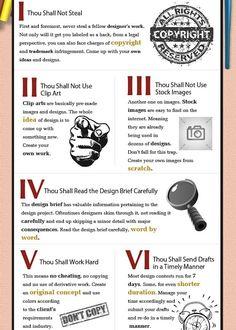For New Logo Designers: The 10 Commandments? - DesignTAXI.com