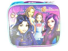 Disney Descendants Family Cartoon Insulated Lunch Bag for Girls06166 ** Check this awesome product by going to the link at the image.