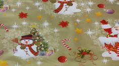 Christmas Jolly Santa, snowman, Christmas tree print Vinyl WIPE CLEAN Shop PVC dining Cafe Bar Table kitchen table protector oilcloth Tablecloth cover Fabric - CUT TO SIZE (Per Metre) (Gold) Bar Table Sets, Bar Tables, Christmas Fabric, Christmas Tree, Gold Christmas, Outdoor Patio Bar Sets, Oilcloth Tablecloth, Pub Design, Pub Set