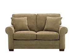 kathy ireland Home Madelyne Chenille Loveseat at Raymour & Flannigan 11/4/2013