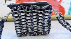 grey ribbon can tab mini purse by cindycreativecrochet, via Flickr