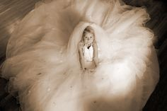 Take a picture of your daughter in your wedding dress to display at her wedding