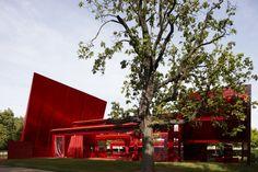 Serpentine Gallery Pavilion 2010 Designed by Jean Nouvel