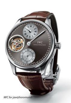 2008 IWC Portuguese Regulator Tourbillon watch
