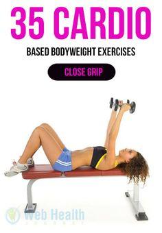 35 Cardio-Based Bodyweight Exercises. #cardio