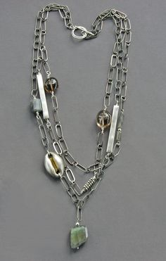 Mirinda Kossoff - triple chain necklace